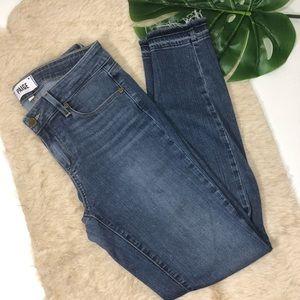 PAIGE - verdugo ankle skinny jeans